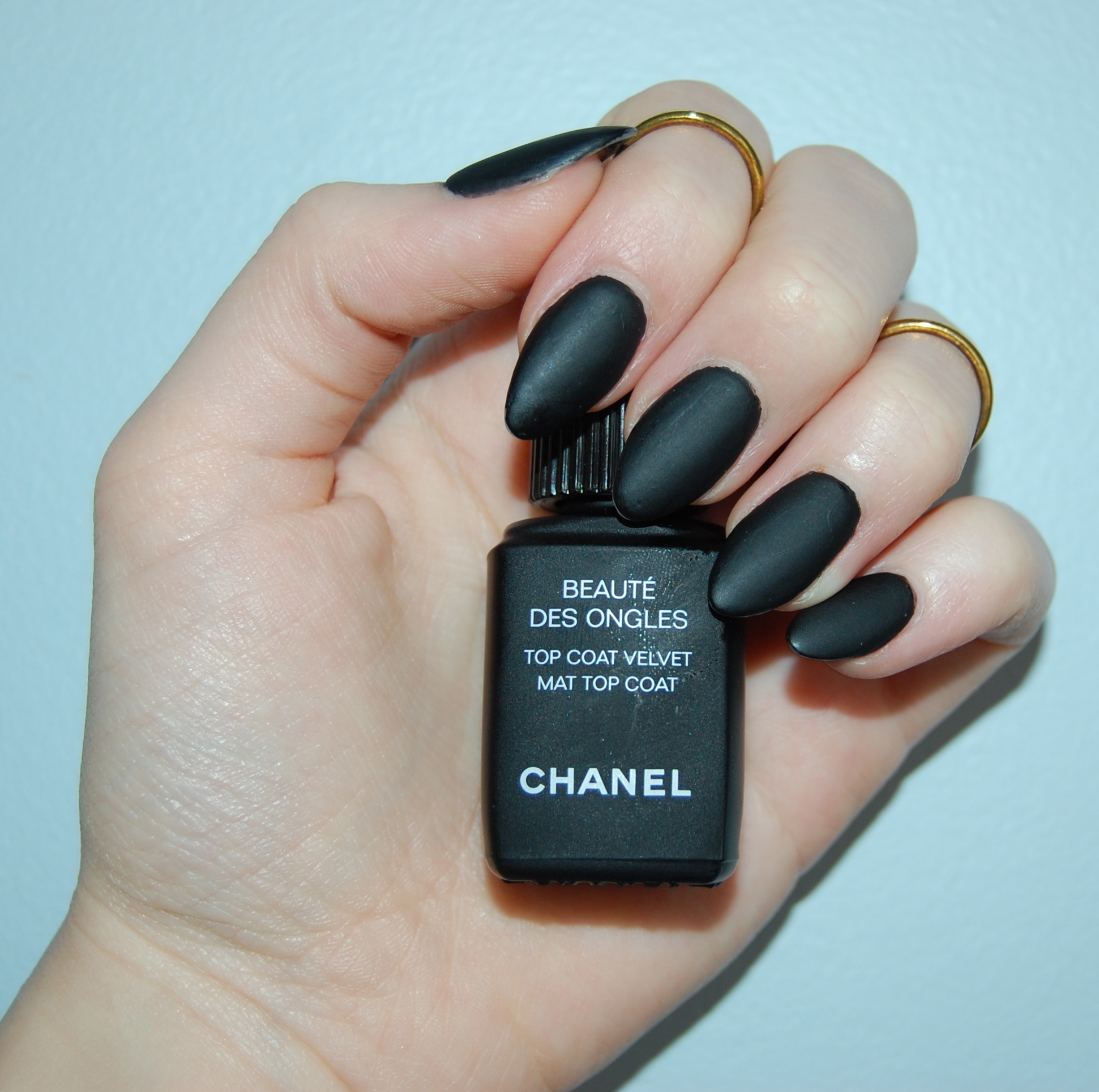 Chanel Velvet Mat Top Coat - All In The Blush