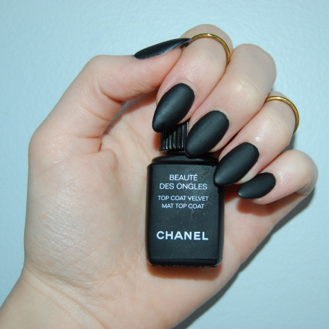Chanel Velvet Mat Top Coat