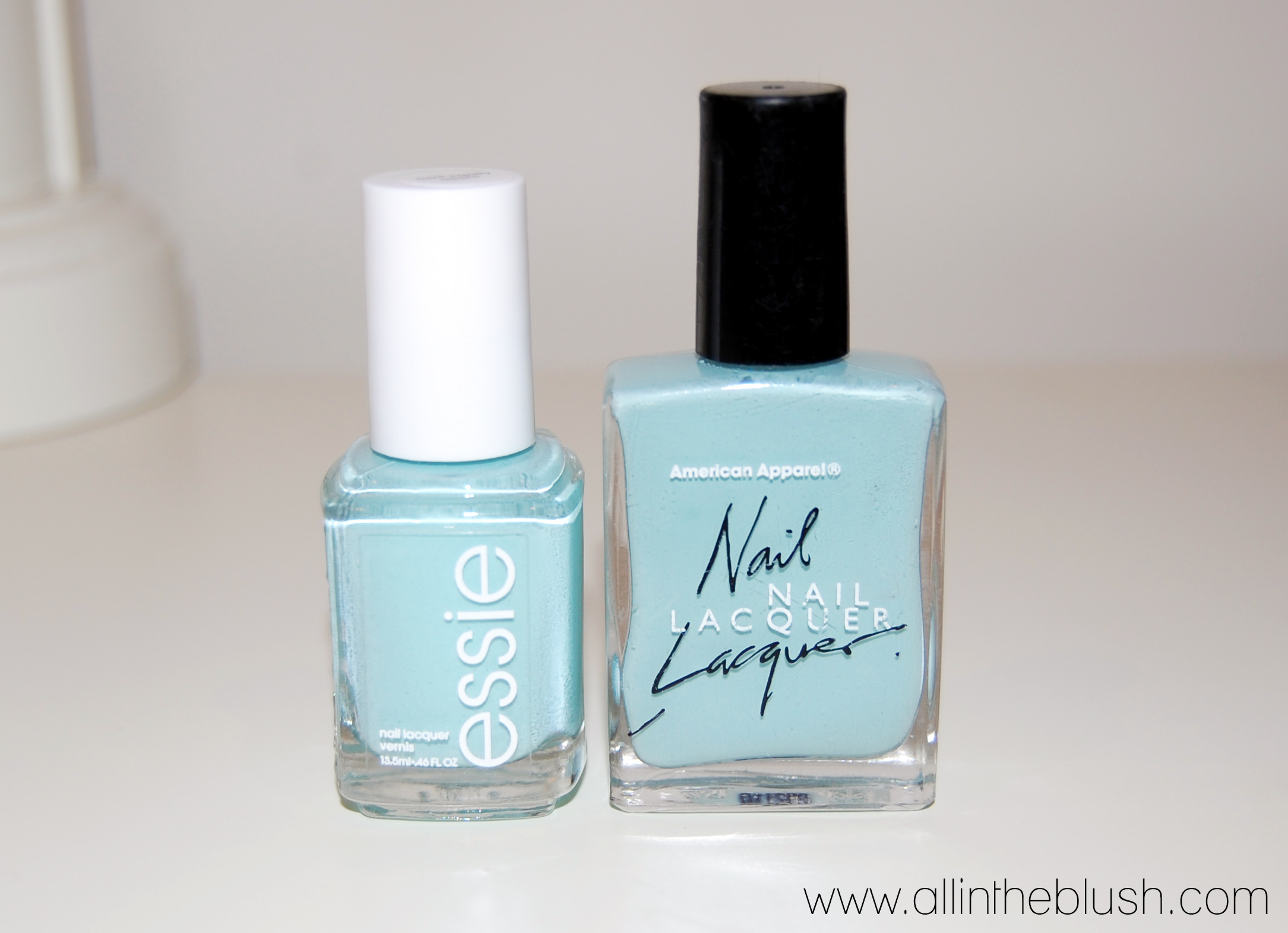 Dupe: Essie Mint Candy Apple VS. American Apparel Office - All In ...