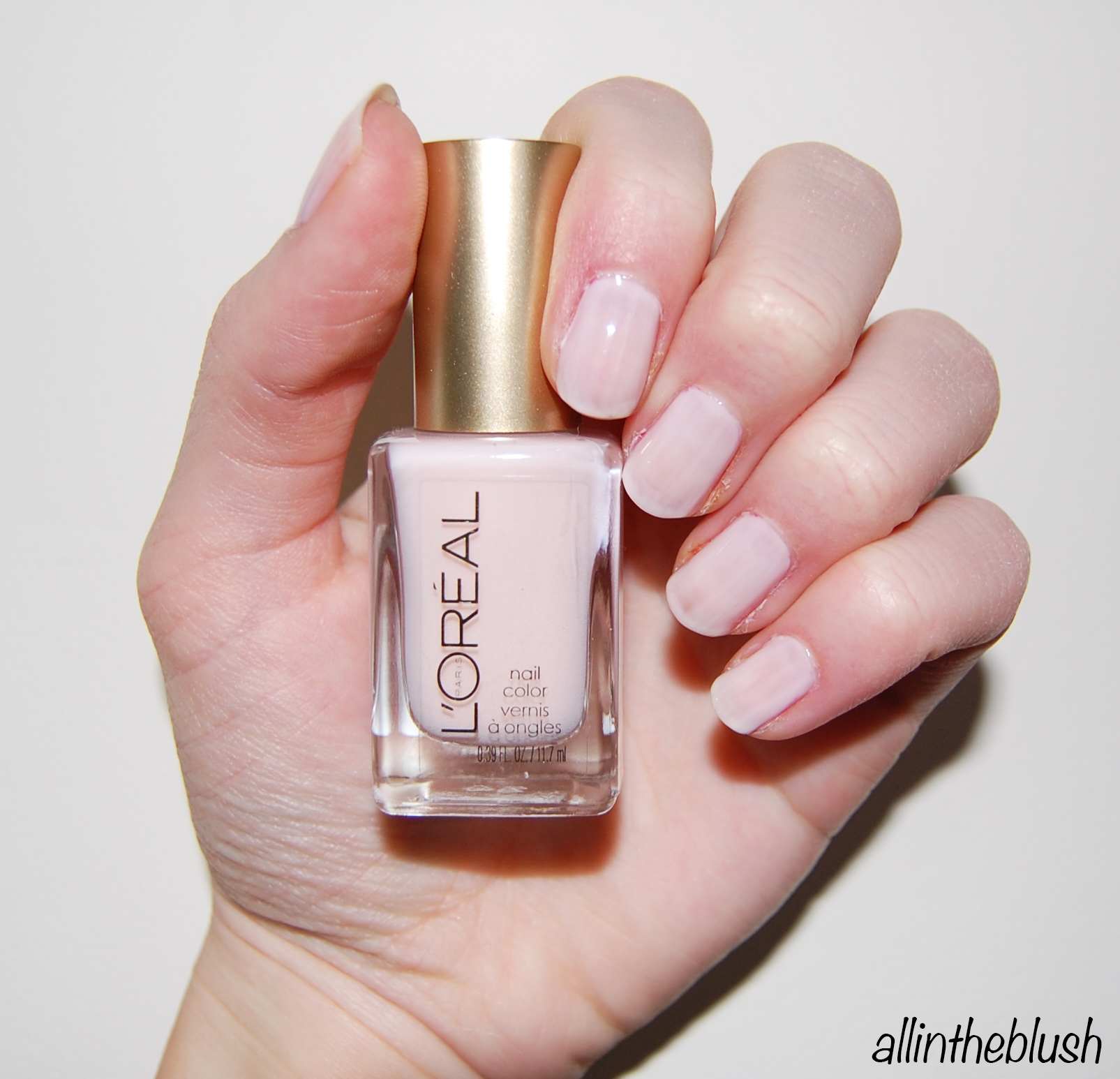 L'Oreal How Romantic Nail Polish