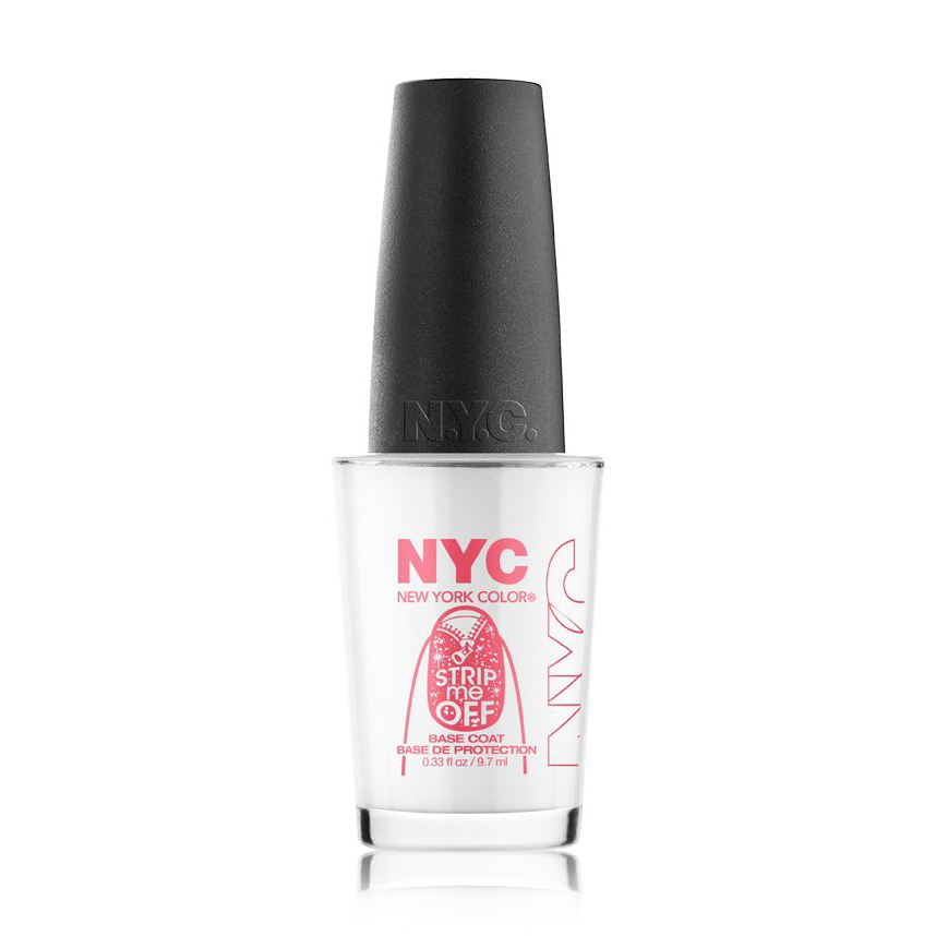 Review: NYC New York Color Strip Me Off Base Coat - All In The Blush