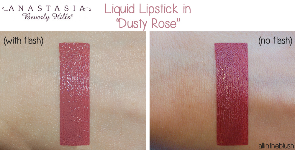 Anastasia Beverly Hills Dusty Rose Swatches