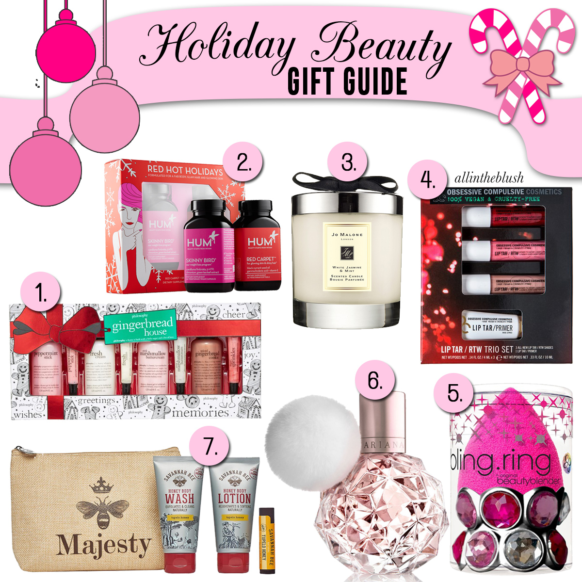 Holiday Beauty Gift Guide All In The Blush