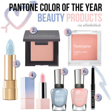 Pantone Color of the Year Beauty Products