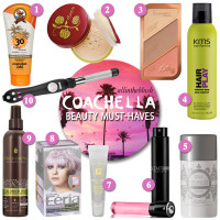 Coachella Beauty Must-Haves for 2016