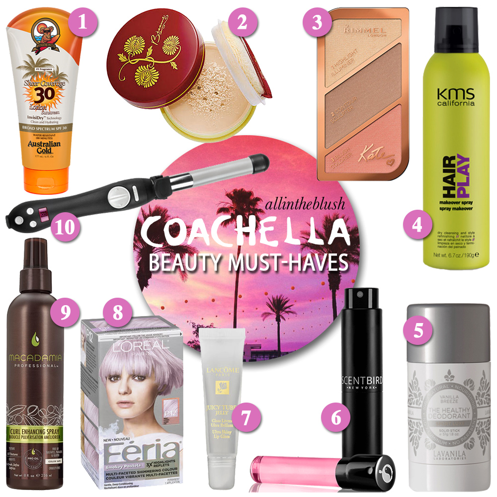 Coachella 2016 Beauty Must-Haves