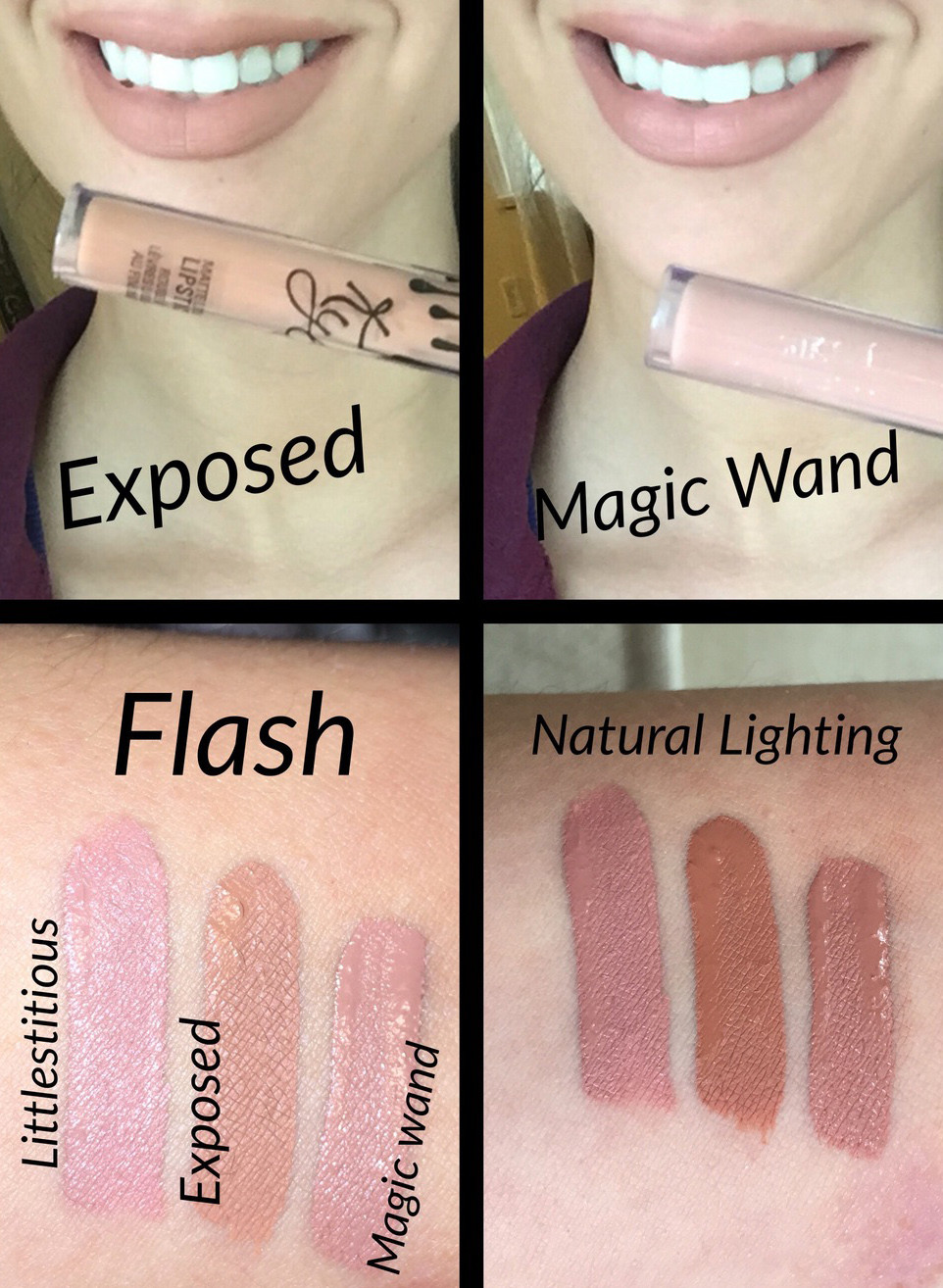 Kylie Cosmetics Exposed Liquid Lipstick Dupes All In The