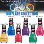 SinfulColors Rio Flare Collection