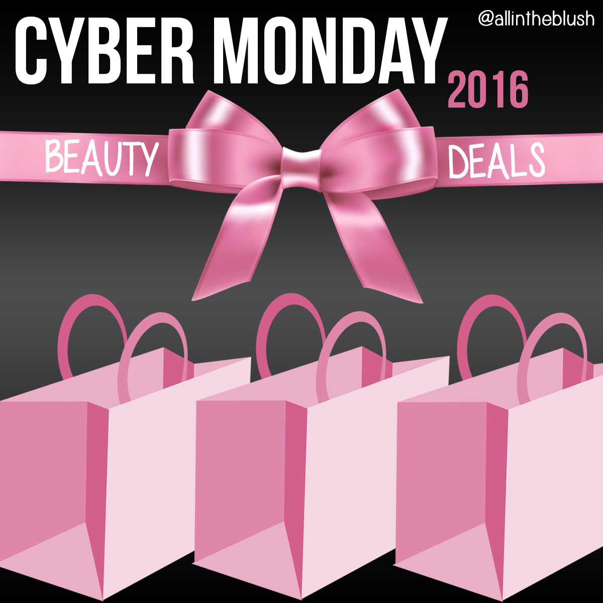Cyber Monday Beauty Deals for 2016 - All In The Blush