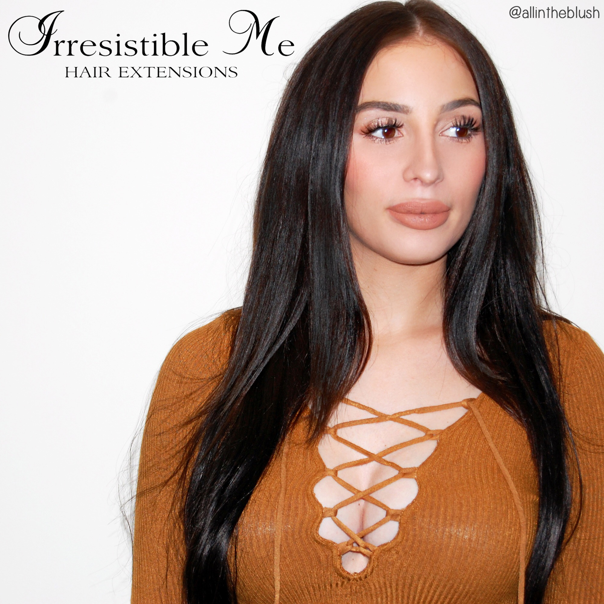 Irresistible Me Hair Extensions Review All In The Blush