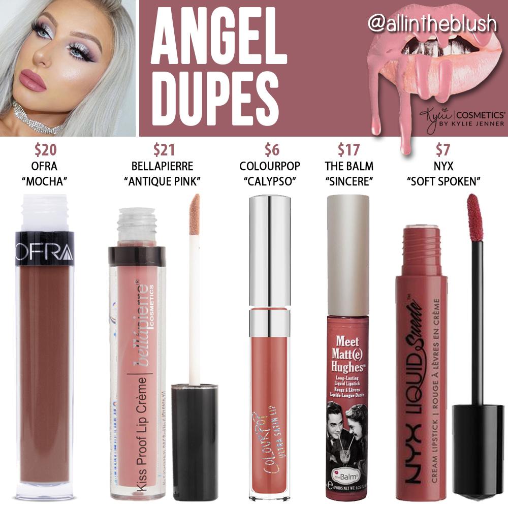 Kylie Cosmetics Twenty Liquid Lipstick Prediction Dupes