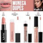 Kat Von D Muñeca Everlasting Liquid Lipstick Dupes