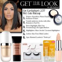 Get the Look: Kim Kardashian's Met Gala 2017 Makeup