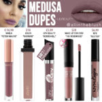 Huda Beauty Medusa Liquid Matte Lipstick Dupes