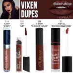 Huda Beauty Vixen Liquid Matte Lipstick Dupe