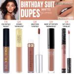 Kylie Cosmetics Birthday Suit Matte Liquid Lipstick Dupes [Vacation Edition]