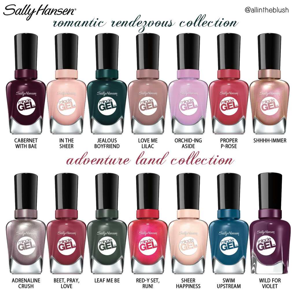 Review Sally Hansen Miracle Gel Travel Stories