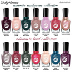 Review: Sally Hansen Miracle Gel Travel Stories Collections