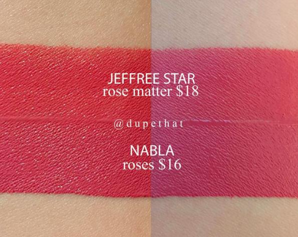 Review Nabla Cosmetics Dreamy Liquid Lipstick Bundle All In The Blush