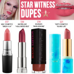 Jeffree Star Star Witness Lip Ammunition Dupes [Summer 2017]