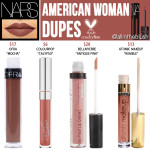 NARS Cosmetics American Woman Powermatte Lip Pigment Cruelty-Free Dupes
