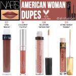 NARS American Woman Powermatte Lip Pigment Cruelty-Free Dupes