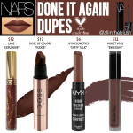 NARS Done It Again Powermatte Lip Pigment Cruelty-Free Dupes