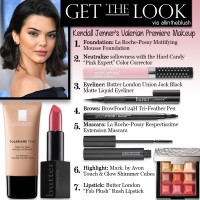 Get the Look: Kendall Jenner's Makeup from the Valerian Premiere