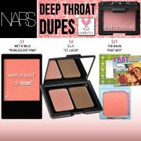 NARS Cosmetics Deep Throat Blush Cruelty-Free Dupes