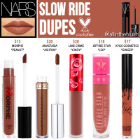 NARS Slow Ride Powermatte Lip Pigment Cruelty-Free Dupes