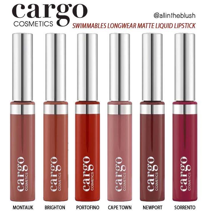 Cargo Cosmetics Swimmables Matte Liquid Lipstick