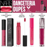 NARS Danceteria Velvet Lip Glide Cruelty-Free Dupes