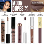 Kylie Cosmetics Moon Liquid Lipstick Dupes