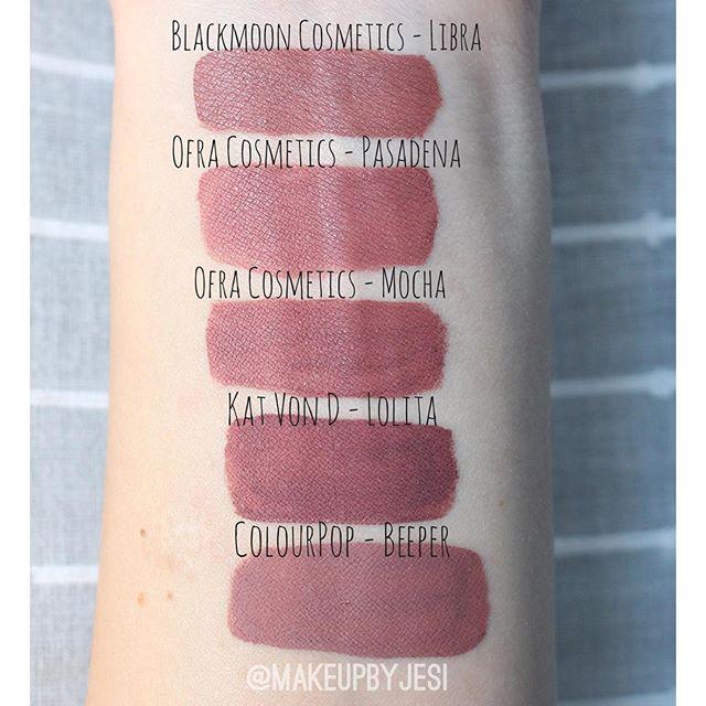Kylie Cosmetics Angel Mini Matte Liquid Lipstick Dupes