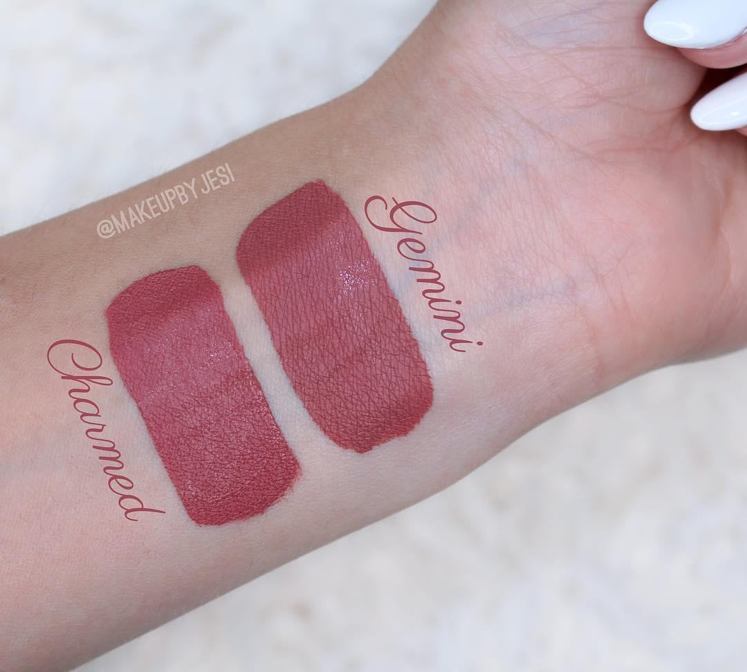 Jeffree Star Gemini Velour Liquid Lipstick Dupes