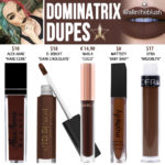 Jeffree Star Dominatrix Velour Liquid Lipstick Dupes