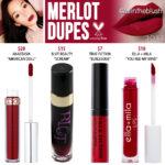Dose of Colors Merlot Liquid Lipstick Dupes