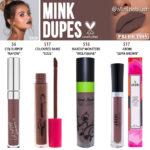 Kylie Cosmetics Mink Liquid Lipstick Prediction Dupes