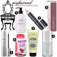 Nightstand Beauty Essentials