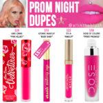 Jeffree Star Prom Night Velour Liquid Lipstick Dupes