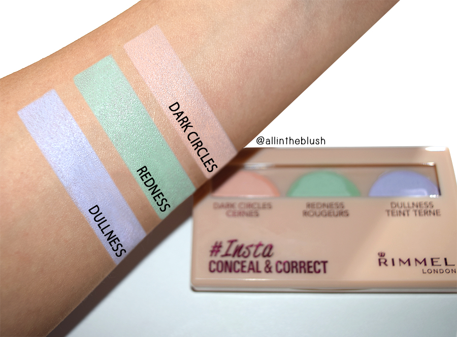 Review: Rimmel #Insta Conceal & Correct Palette
