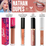 Jeffree Star Nathan Velour Liquid Lipstick Dupes [Star Family Collection]