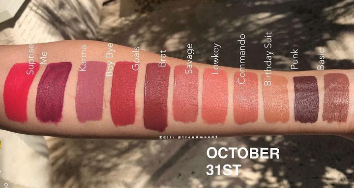 Kylie Cosmetics Surprise Me Liquid Lipstick Prediction