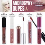 Jeffree Star Androgyny Velour Liquid Lipstick Dupes