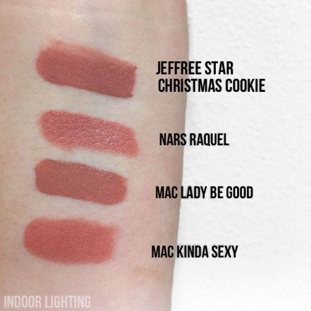 Jeffree Star Christmas Cookie Velour Liquid Lipstick Dupes All In The Blush