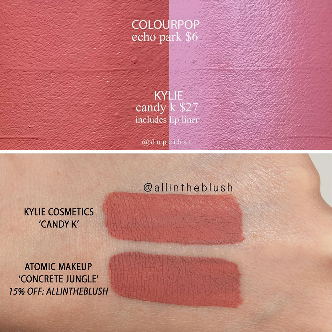 Jeffree Star Christmas Cookie Velour Liquid Lipstick Dupes -4198