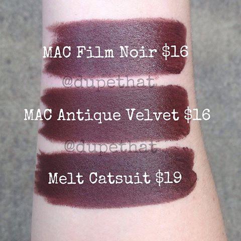 Fenty Beauty 'PMS' Mattemoiselle Plush Matte Lipstick Dupes