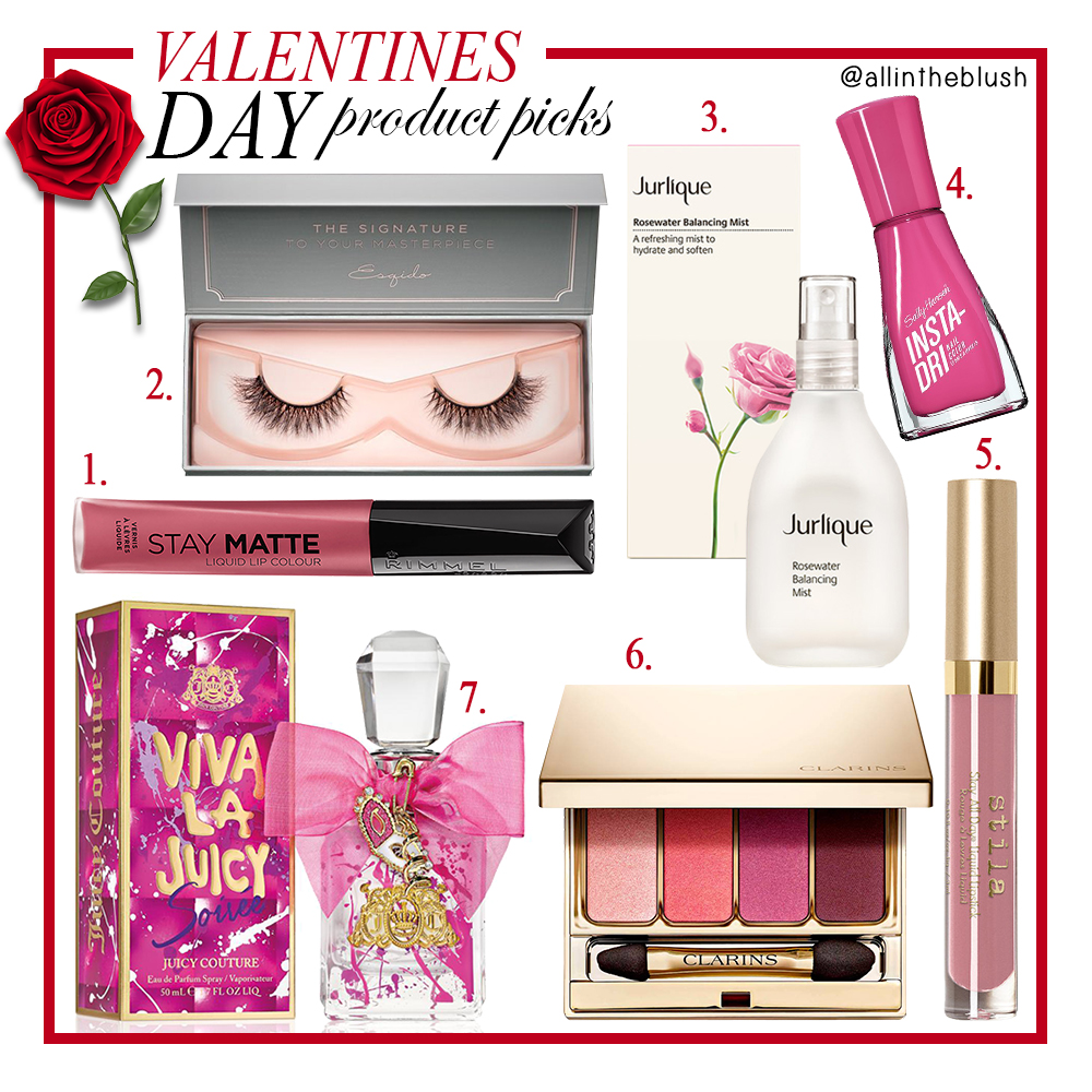 Valentines Day Beauty Product Picks