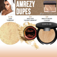 Anastasia Beverly Hills Amrezy Highlighter Dupes