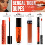 MAC Bengal Tiger Retro Matte Liquid Lipcolour Dupes